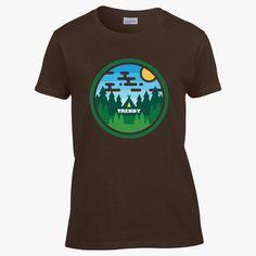 Blue Spruce | Women's T-Shirt $19.99 www.Trendy-Tees.com  #adventure #trees