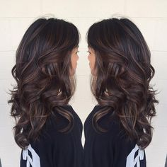 Brunette Locks With Chocolate Accents