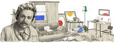 Google Google Homepage, Istanbul, Modern Novel, German Translation, You Doodle, Teaching Career, Fiction, Google Doodles, Associate Professor