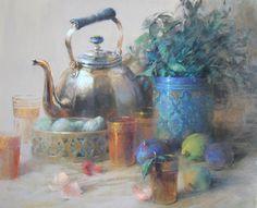 Claude Texier / Un thé à la menthe