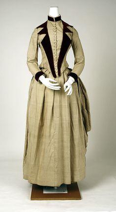 Ensemble  Date: 1880s Culture: American Medium: silk  Metropolitan Museum of Art   Accession Number: C.I.40.88.21a–d