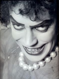 Rocky Horror Picture Show!!!!!!  (Tim pretty much looked like this on Criminal Minds!)
