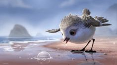 Pixar Drawing - A young sandpiper goes on a quest for food in the first clip from Pixar's animated short Piper, debuting in theaters with Finding Dory. Drawing Cartoon Characters, Character Drawing, Cartoon Drawings, Cute Drawings, Pixar Short Movies, Pixar Animated Movies, Short Films, Disney Love, Disney Art