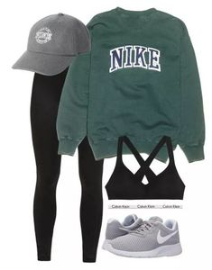 """"""" by ainlsley featuring NIKE, Victoria's Secret and Calvin Klein Underwear Image source mode trends voor de herfst winter van 2017 fashion trends for the winter of 2017 Comfy Outfits 2019 Lazy Day Outfits School Outfits 2019 Summer Fashion 2019 Teen F Hipster Outfits For Teens, Lazy Outfits, Teen Fashion Outfits, Cute Casual Outfits, Sport Outfits, Hipster Ideas, Cute Athletic Outfits, 60 Fashion, Fall Hipster"""