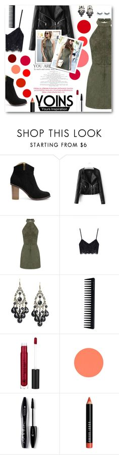 """""""Yoins Contest"""" by tasnime-ben ❤ liked on Polyvore featuring GHD, Lancôme, Bobbi Brown Cosmetics, yoins and yoinscollection"""