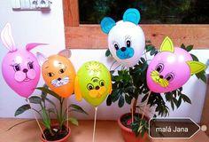 Tvoření pro děti - karneval