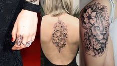 If you are looking for some inspiration for lion tattoos for women and planning to get a lion tattoo on your body then you are good to be here. Lion Back Tattoo, Lion Tattoo On Finger, Lion Tattoo On Thigh, Flower Thigh Tattoos, Foot Tattoos, Forearm Tattoos, Finger Tattoos, Girl Tattoos, Tattoos For Guys