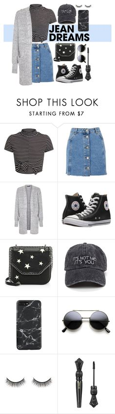 """""""i choose comfy."""" by indriafeby on Polyvore featuring Topshop, Converse, STELLA McCARTNEY and Battington"""