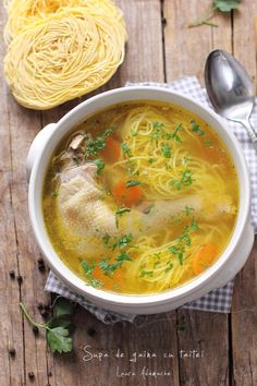Soup Recipes, Healthy Recipes, Romanian Food, Soul Food, Natural Health, Food To Make, Health Tips, Food And Drink, Favorite Recipes