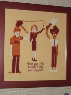 For my sister - the perfect cross-stitch for you! It goes with your sweet style!