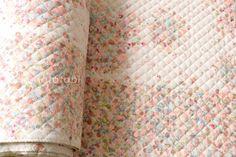 Japanese Fabric Nani Iro Fuwari fuwari AW quilted by MissMatatabi
