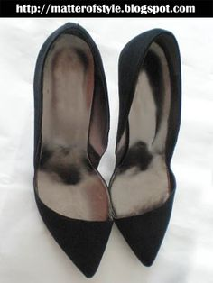 A Matter Of Style: DIY Fashion: DIY Stella MCCartney and Zara asymmetric shoes