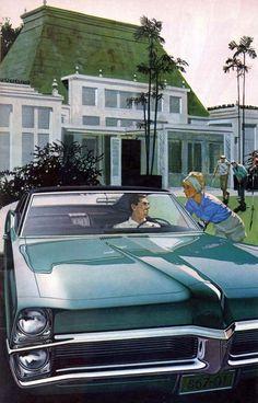 1967 Pontiac Bonneville Brougham Hardtop Coupe: Art Fitzpatrick and Van Kaufman