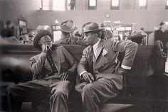 Greyhound Bus Terminal, New York City-1947    Esther Bubley    Esther Bubley