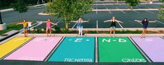 This would be such a cute grad parking spot idea for best friends Senior Year Pictures, Graduation Pictures, Friend Senior Pictures, Cheer Pictures, Best Friend Goals, Bff Goals, Parking Spot Painting, Graduation Cap Decoration, Graduation Caps