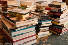 How to get rid of books | No Ordinary Homestead