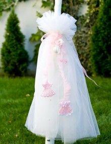 Lumanare botez fetite cu accesorii roz crosetate Girls Dresses, Flower Girl Dresses, Victorian, Wedding Dresses, Flowers, Fashion, Dresses Of Girls, Bride Dresses, Moda