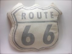 Route 66 Sign Decorative Pillow- Vintage looking Pillow- Urban City Decor… Route 66 Decor, Route 66 Sign, Nursery Ideas, Bedroom Ideas, Baby Lane, Guest Room Decor, Cowgirl Chic, Vintage Nursery, Cute Pillows