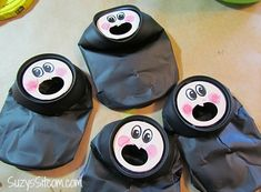 How to make cute witchy poo votives from recycled jars and soda cans!