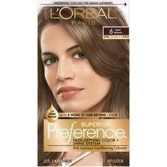 Since 1973, L'Oreal Superior Preference has been our gold standard in permanent hair color – delivering extraordinary shine and luminous hair color that lasts and lasts. What makes Superior Preference hair color so special is our unique Fade-Defying Color and Shine System that pairs our translucent gel formula with our famous Care Supreme Conditioning treatment. The end result is beautifully crafted, long lasting hair color with depth and dimension. Available in over 50 lu...