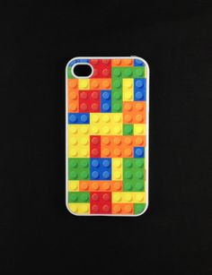 Iphone 4 Case - Lego Iphone 4s Case,  Lets just pray you don't step on it for two reasons. Phones going to break. And Lego HURT!