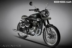 #DC_Design's DC2 :Based On #Bullet_350  DC Design has gone into the #bike customisation showcase and propelled its new sub mark – DC2. This new brand will outline and offer customisation packs for bikes in the Indian market. The organization has likewise uncovered its first custom bike, named the DC2 Carbon Shot. It depends on the mainstream #Royal_Enfield_350.  http://bit.ly/2laaYG3