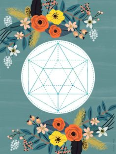 Sacred Geometry 3 Art Print