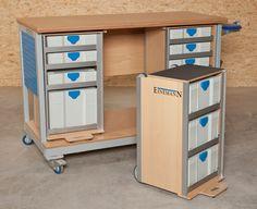 Montagetische Einemann | Mobile Products | Mobile Workbench