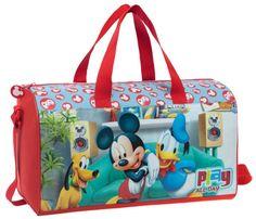 Bolsa original Disney modelo Play, con doble asa y asa extensible para llevar en bandolera, este bolso es ideal para complementar con cualquier maleta Disney