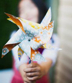 playful pinwheels