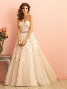 Allure Bridal Trunk Show Blog Post...lace wedding dress