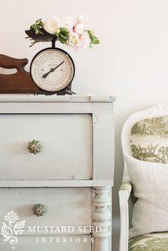 layla's mint dresser | miss mustard seed