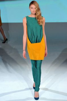 Chalayan Fall 2012 Ready-to-Wear Fashion Show - Romee Strijd (Viva)