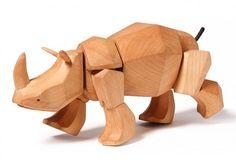 Animal Wooden Toys by David Weeks | Inspiration Grid | Design Inspiration