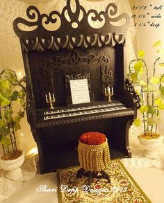 Special order Handmade Gothic Organ and by ShariDeppDesigns