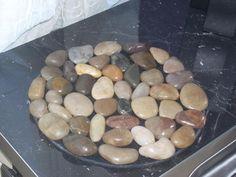 Sottopentola in feltro e pietre