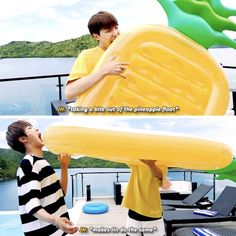 Jhope and Jin ft pineapple