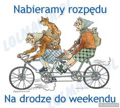 made by: Olga Gromova , illustration Old Lady Humor, Old Folks, Old Age, Bicycle Art, Art Impressions, Tandem, Old Women, Illustrators, Character Design