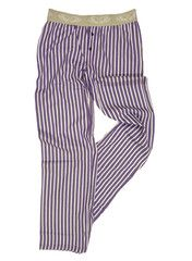 Pants to Poverty, dame, Pysjamas, Hipster, Plum Stripe, str. XL  [Friends Fair Trade]