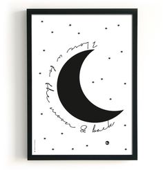 The Birds and the Bees | Poster 2 in 1 - Love Sweet Dreams | I Love You to the Moon