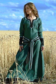 """Lady Tunic"" Medieval clothing Renaissance costume"