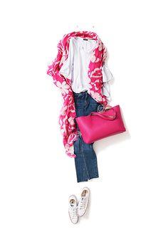 Kyoko Kikuchi's Closet #kk-closet ピンクを効かせた、気持ち高まる大人カジュアル