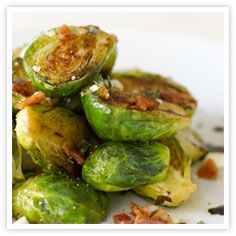 Recipes, Cooking Products and More for Home Cooks - Kikkoman : Roasted Brined Brussels Sprouts