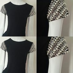 Diy Clothes Tops, Diy Clothes Design, Diy Summer Clothes, Diy Clothes Refashion, Diy Clothes Videos, Diy Fashion, Fashion Outfits, Sleeves Designs For Dresses, Travel Clothes Women
