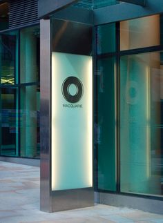 Macquarie Group London | Exterior Entrance Signage