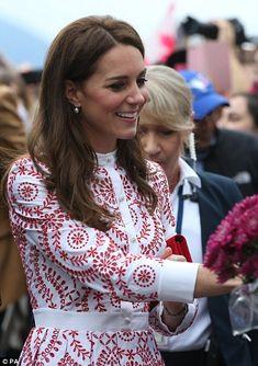 The Duchess of Cambridge...