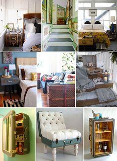 Luggage as furniture