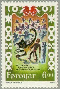 Ormar with cat, trolls
