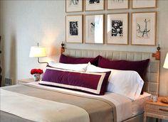 Modern Bolster - A rectangular bolster is a modern and fresh look bedding accent