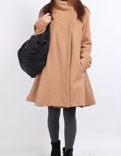 Dream  Wool overcoat 4 color by MaLieb on Etsy, $116.00